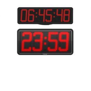 Reloj hora temperatura