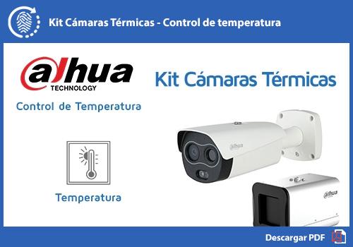 Cámaras térmicas para control de temperatura