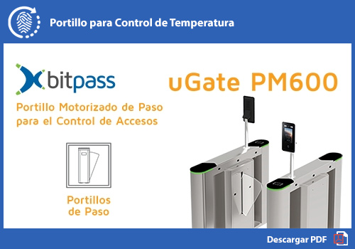 Portillo para control de temperatura